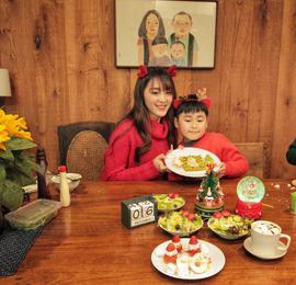别人家的妈妈!杭州85后高颜值辣妈给孩子做的早餐宛如童话世界