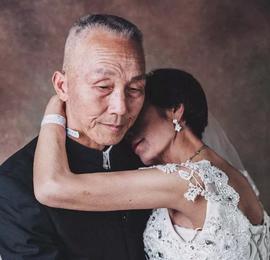 这组特殊的婚纱照,看着看着就哭了…