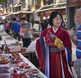 汉文化旅游节上的汉服嘉年华