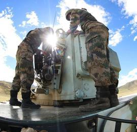 海拔4700米高原上的精彩实战演练