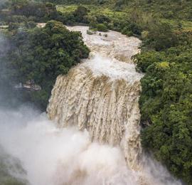 黄果树瀑布流量创2020年入汛新高