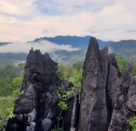 探访海南喀斯特石林:万千石芽如剑直指苍穹