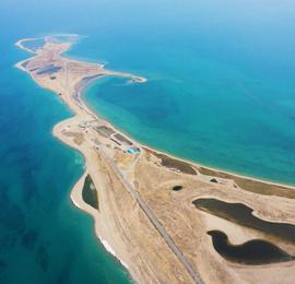 青海湖全面开湖:解冻面积近90%