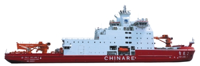 [整体情况] 船长:122.5米 型宽:22.32米 设计吃水:7.85米 设计排水量:13996吨 航速:12-15节 续航力:2万海里 自持力(船上所带淡水和食品在海上所能维持的天数):60天
