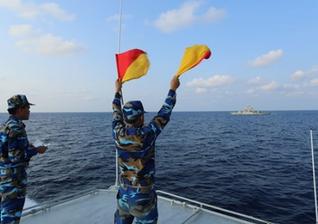 越南与泰国海军举行联合巡逻
