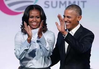 奥巴马夫妇正式进军演艺圈
