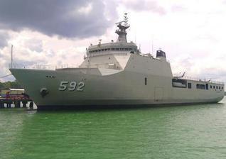东南亚万吨战舰如雨后春笋般出现