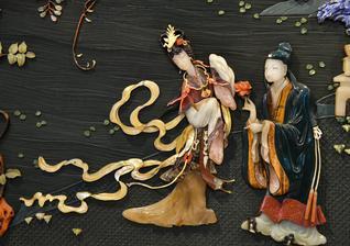 金漆玉石镶嵌成的千年技艺