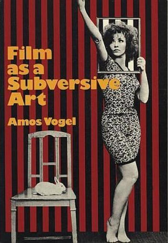 《电影作为一种颠覆性的艺术》一书的封面,采用了《有机体的秘密》里的剧照