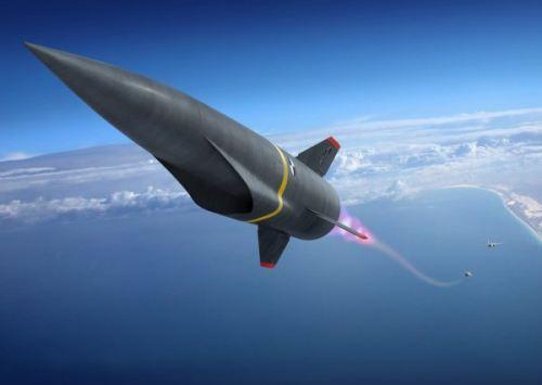 图为美军未来高超音速武器设想图。