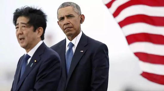▲安倍晋三与奥巴马(美联社)