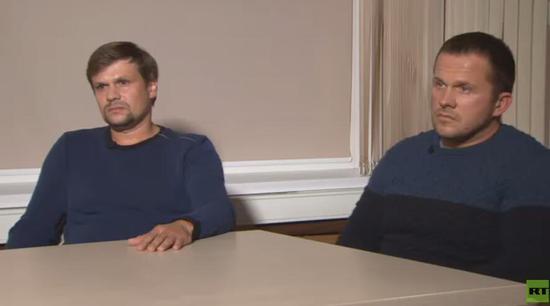 视频-俄前间谍中毒案嫌犯受访:我们只是去那里看教