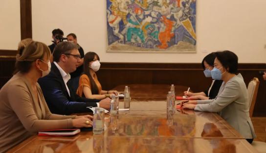 当着中国大使的面,塞尔维亚领导人亮明了态度图片