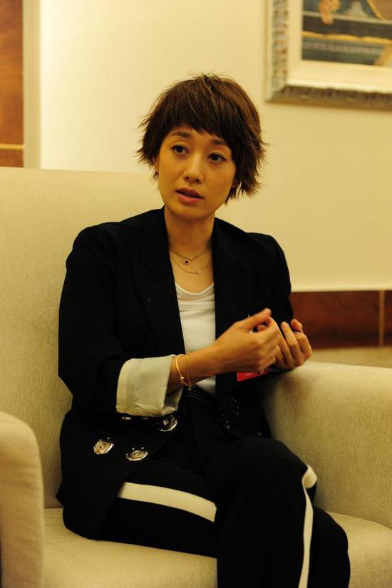 上海市妇女代表马伊琍。上海市妇联供图