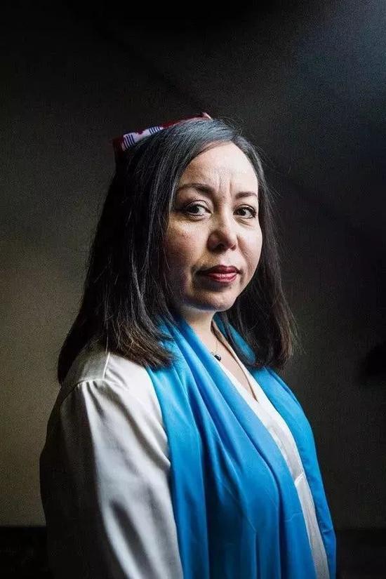 阿卜杜拉赫布(Asiye Abdulaheb),图片截取自《纽约时报》