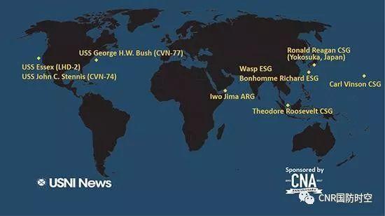 """美国海军协会新闻网站4月2日公布的信息显示,""""罗斯福""""号航母已经抵达新加坡。"""