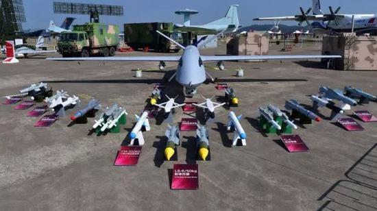 ▲资料图片:翼龙Ⅰ型无人机亮相珠海航展。