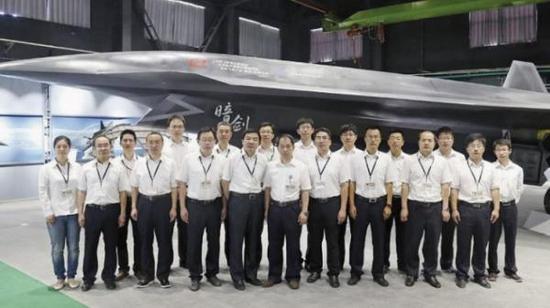 暗剑无人机照片(简氏防务网站标注为:CJDBY.net图片)