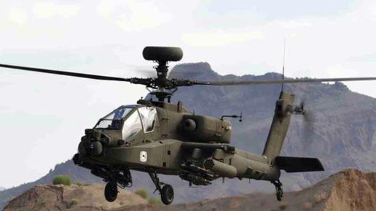美国同意向印度出售阿帕奇直升机