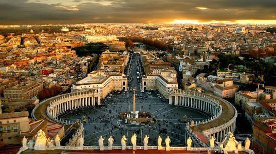梵蒂冈风光