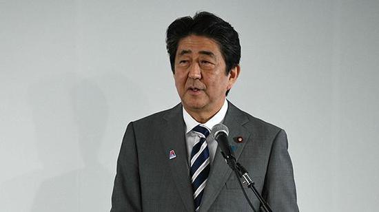 日本首相安倍晋三  视觉中国 资料图