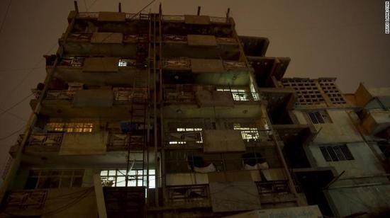巴格达破旧街区 图据CNN新闻