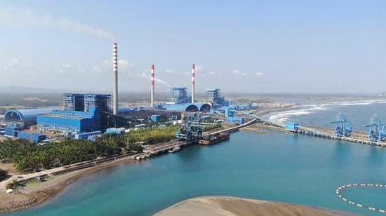 中国首套出口海外的百万机组成功并网发电 图自国资委网站