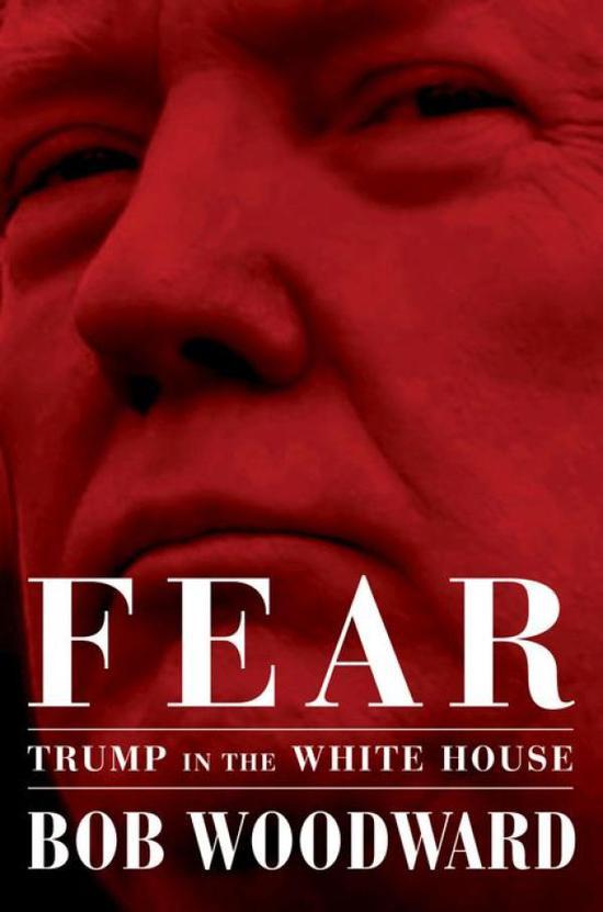 《恐懼:川普在白宮》(Fear: Trump in the White House)書封
