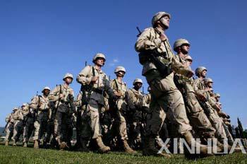 驻韩美军 图片来源:新华社