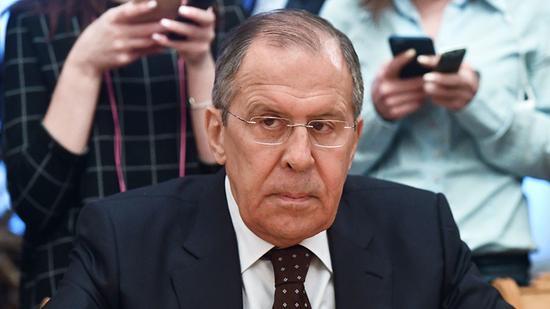 图为俄罗斯外长拉夫罗夫。(图源:今日俄罗斯)
