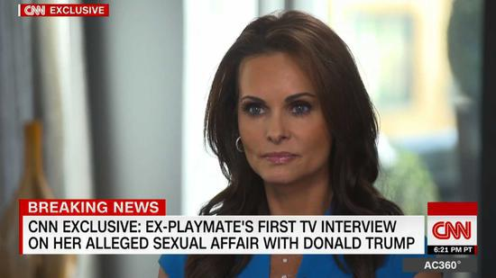 接受採訪的麥克道爾 圖自CNN