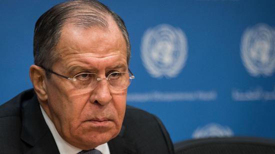 图为俄罗斯外交部长拉夫罗夫。(图源:今日俄罗斯)