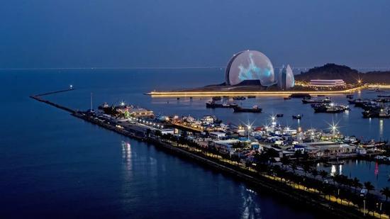 ▲广东珠海大剧院(图片来源:视觉中国)