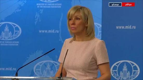▲俄罗斯外交部发言人扎哈罗娃表示,俄罗斯尊重其在伊朗核协议框架内的义务。她还强调,对伊朗核协议的任何修改都是不可接受的。(半岛电视台)