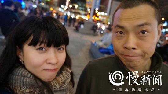 刘传建和妻子邹函 本文图均为 慢新闻 图
