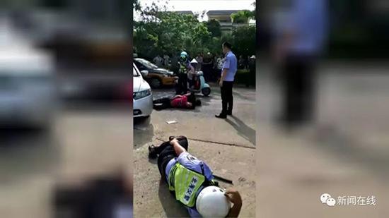 17岁少年吸食K粉后飙车 拒检冲卡把辅警撞骨折