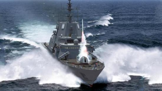 资料图片:美海军FFG(X)导弹护卫舰想象图。(图片来源于网络)