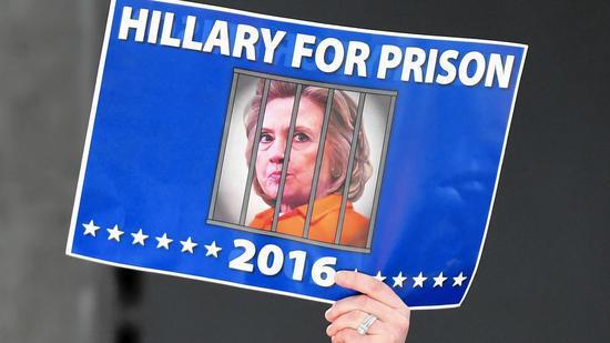 """""""送她坐牢""""海报示意图 图自推特"""