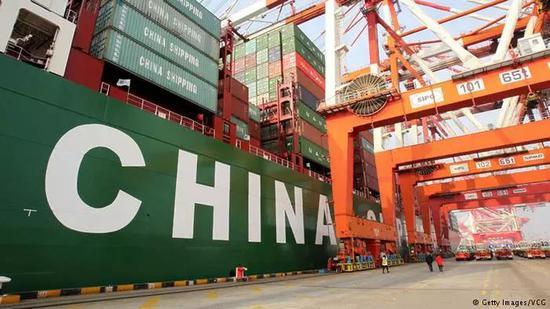 资料图片:2017年,中国继续保持德国最大贸易伙伴的地位。(德国之声网站)