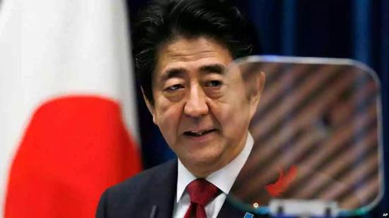▲日本首相安倍晋三