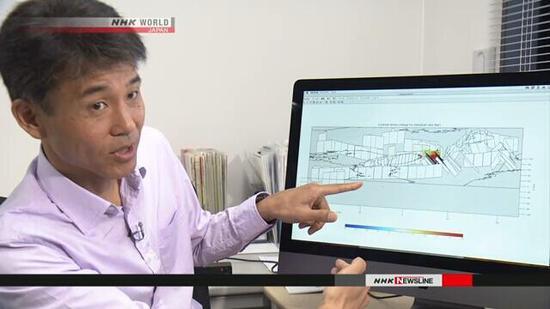 专家分析发现:日本大阪周边发生大地震风险增强