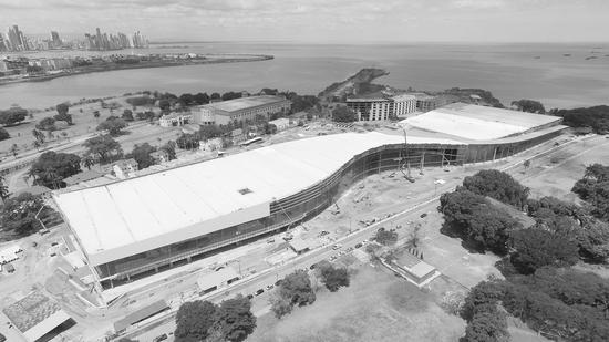 图片报道:将于今年下半年竣工的巴拿马国际会展中心全景图