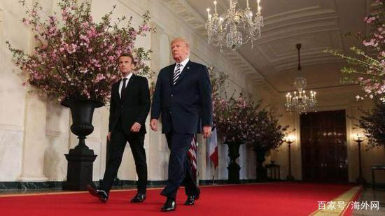 """特朗普""""怂恿""""法国退欧盟:咱签更优惠的贸易协定"""