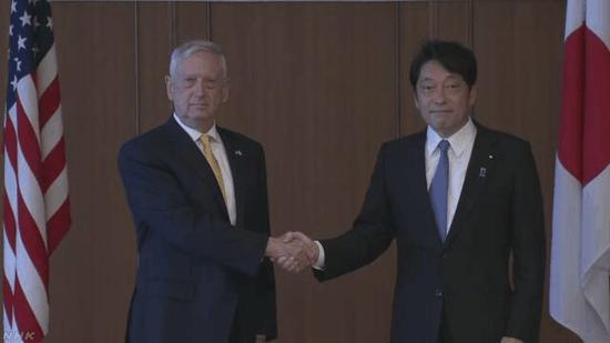 美日防长会谈 双方确认为实现半岛无核化展开合作