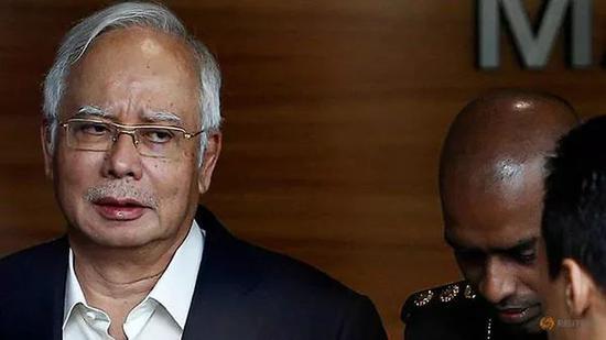 马来西亚前总理纳吉布(Najib Razak)