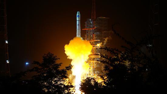 我国成功发射第三十二颗北斗导航卫星