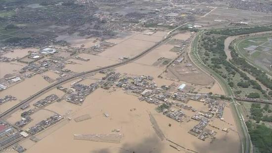 受灾情况(图片来源:NHK)