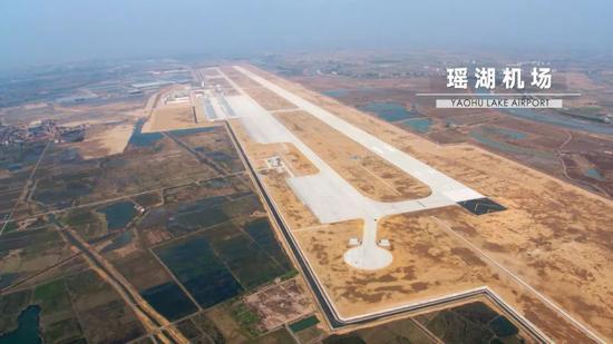 瑶湖机场全景图