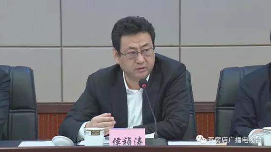 """侯祯涛 """"瓦房店广播电视台""""微信公众号 资料图"""