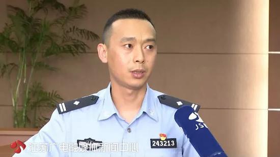 △昆山市公安局刑警大队副教导员伍元明介绍案情
